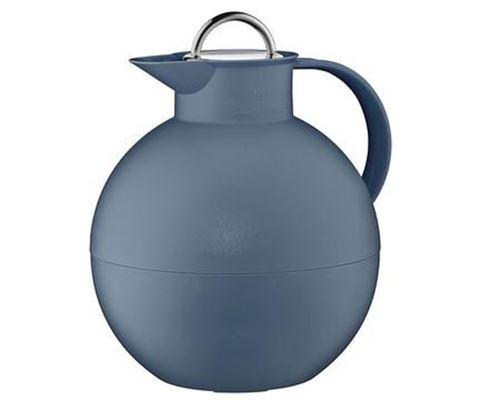 Bild på Kulan termoskanna med stålpropp frostad indigoblå