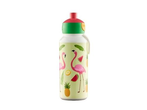 Bild på Mepal Pop-up Tropical Flamingo Dricksflaska 400 ml