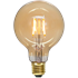 Bild på LED-LAMPA E27 G95 PLAIN AMBER