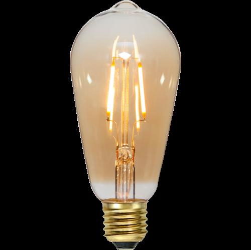 Bild på LED-LAMPA E27 ST64 PLAIN AMBER