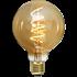Bild på LED-LAMPA E27 G95 DECOLED SPIRAL AMBER