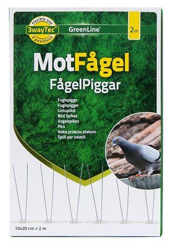 Bild på GREENLINE MotFågel Fågelpigg 2m KAMPANJ!