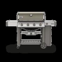 Bild på Weber® GENESIS® II E-410 GBS GASOLGRILL Smoke Grey - Utställningsexemplaret!