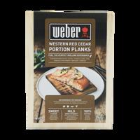 Bild på Weber® Rökplanka - Cederträ 4-pack Portionsstorlek