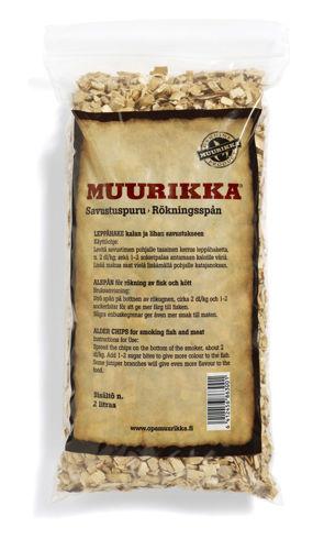 Bild på MUURIKKA Rökspån Al 10 liter