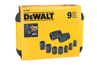 Bild på Dewalt DT7507 Krafthylssats 9 Delar